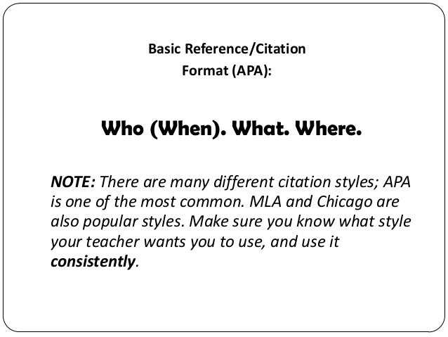citation format apa