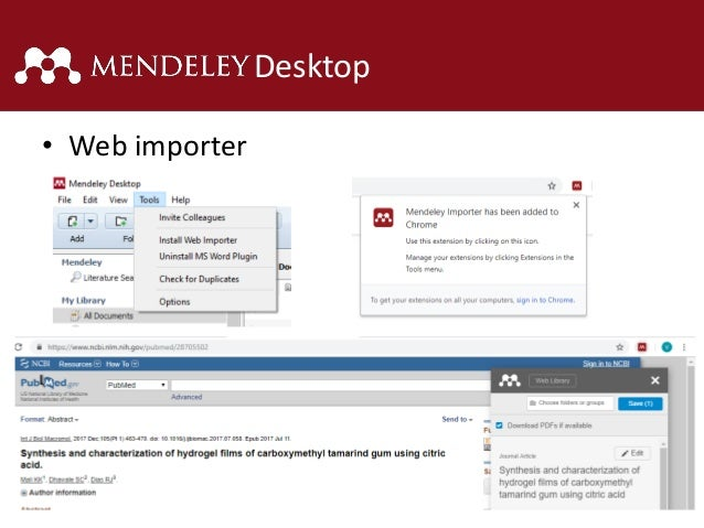 uninstall mendeley reference manager