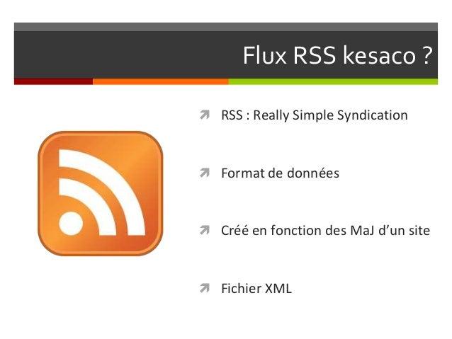 Role des RSS dans le Référencement Slide 2