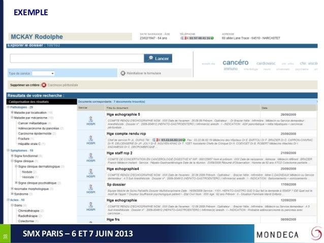 3838SMX PARIS – 6 ET 7 JUIN 2013EXEMPLE