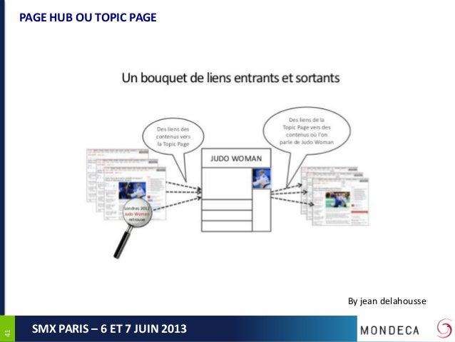 4141SMX PARIS – 6 ET 7 JUIN 2013PAGE HUB OU TOPIC PAGEBy jean delahousse