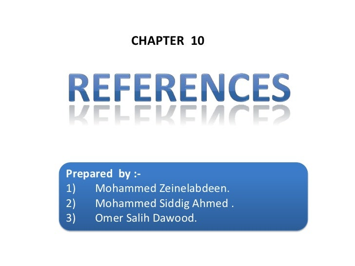 References - sql injection