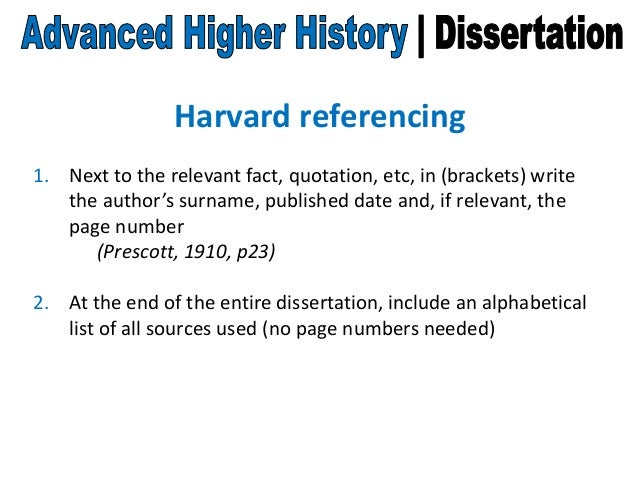 Mcdonalds dissertations