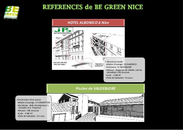 HOTEL ALBONICO à Nice                                                           • Rénovation lourde                       ...