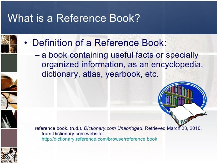 reference book
