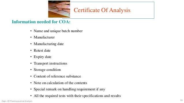 Chemical Testing and Analysis