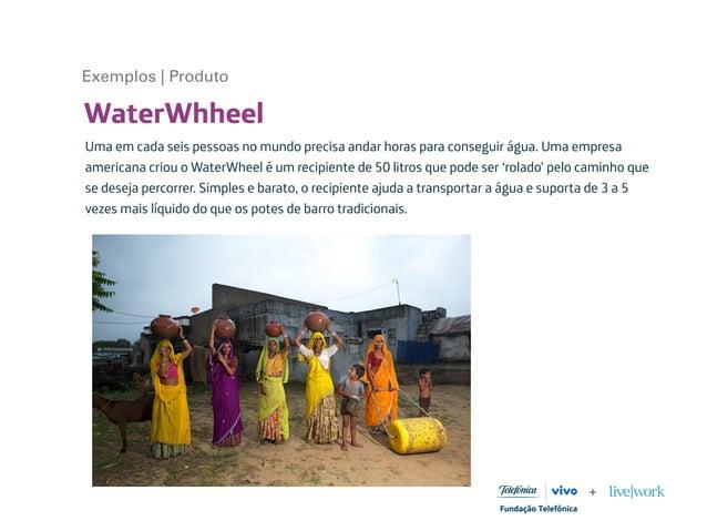 WaterWhheel Uma em cada seis pessoas no mundo precisa andar horas para conseguir água. Uma empresa americana criou o Water...