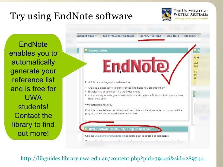 endnotes of an essay