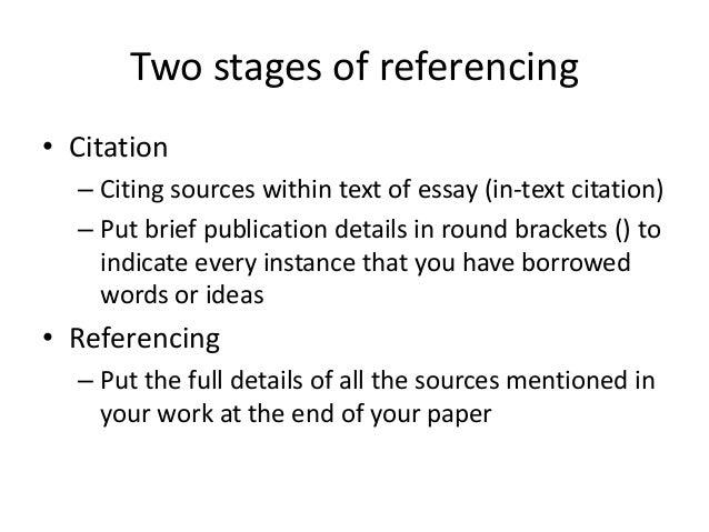 Paraphrasing harvard method