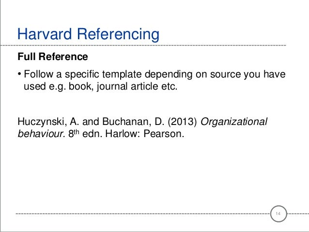 harvard style referencing template - harvard referencing for criminology