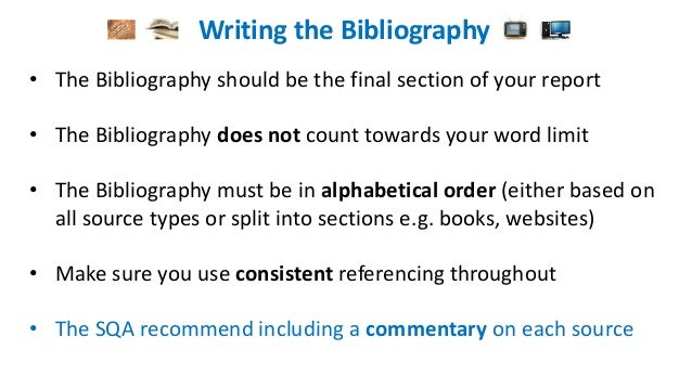 dissertation word count include bibliography