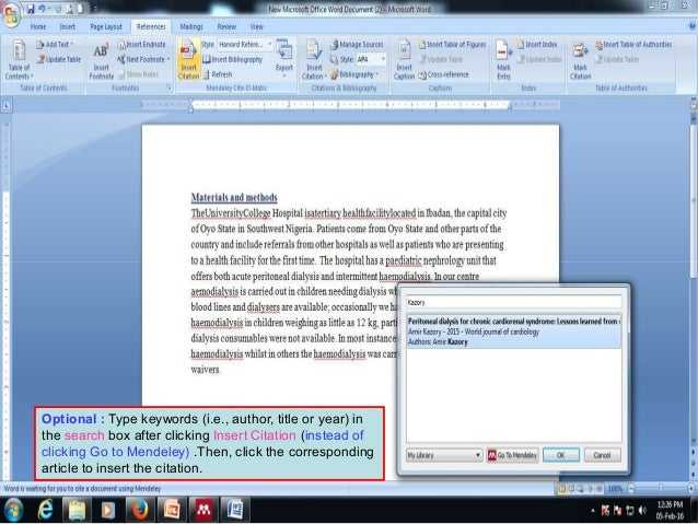 Papers reference management software