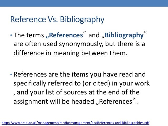 Difference Between Citation And Annotated Bibliography