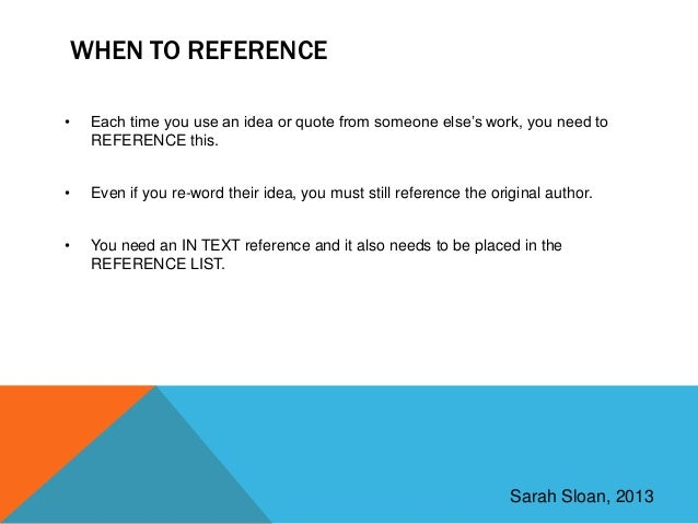 how to find an academic refrence