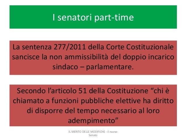Referendum costituzionale for Senatori quanti sono