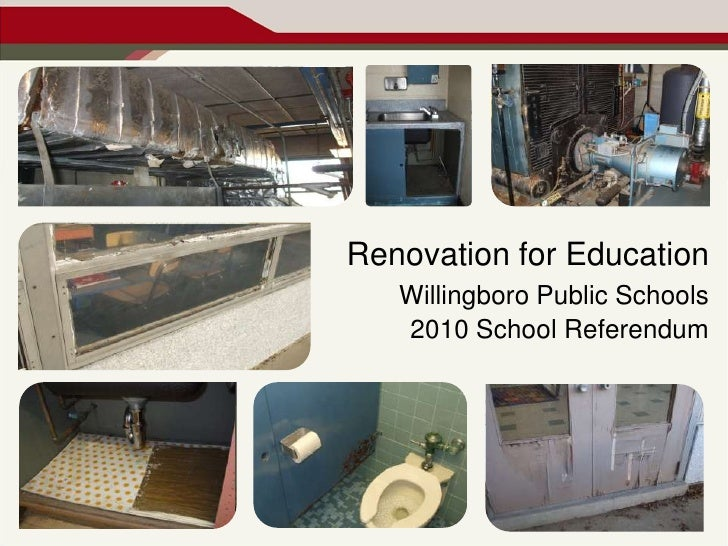 Renovation for Education<br />Willingboro Public Schools<br />2010 School Referendum<br />
