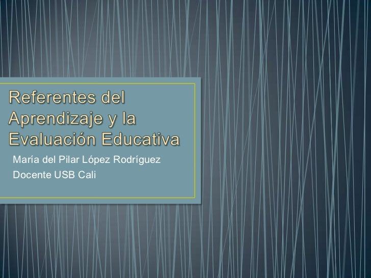 María del Pilar López RodríguezDocente USB Cali