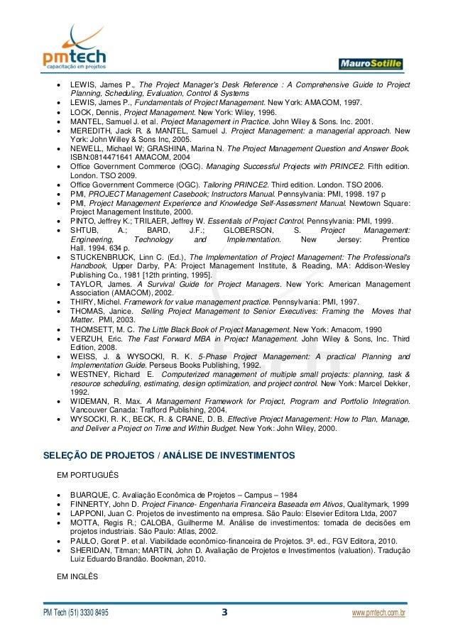lewis james p fundamentals of project management amacom pdf