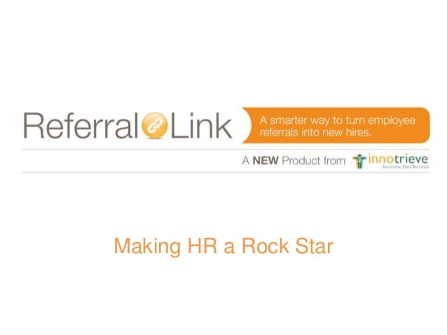 Making HR a Rock Star
