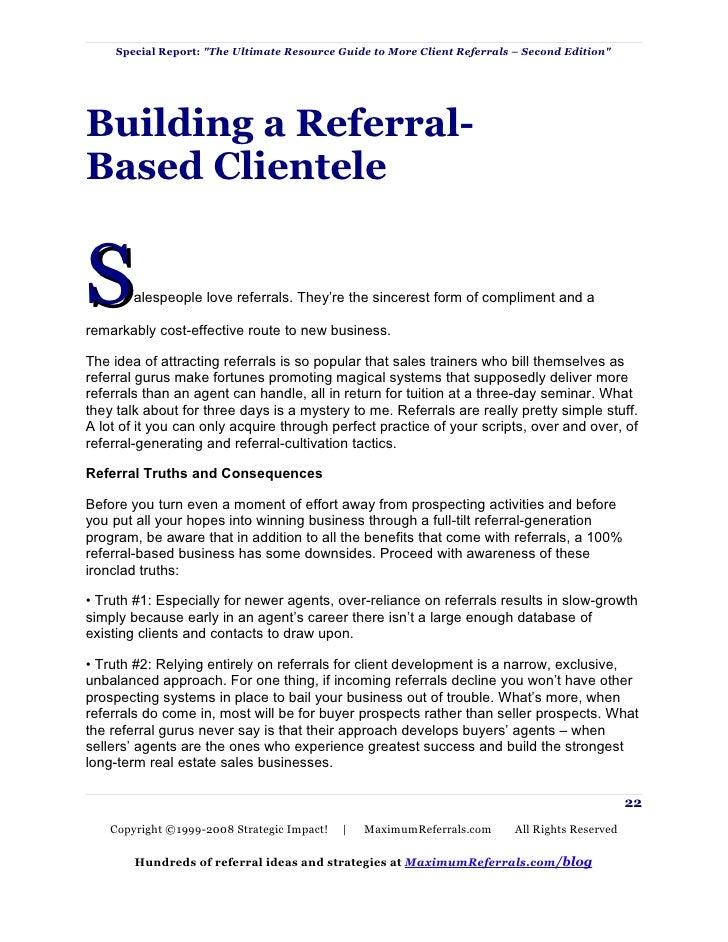 Referral marketing guide 22 spiritdancerdesigns Image collections