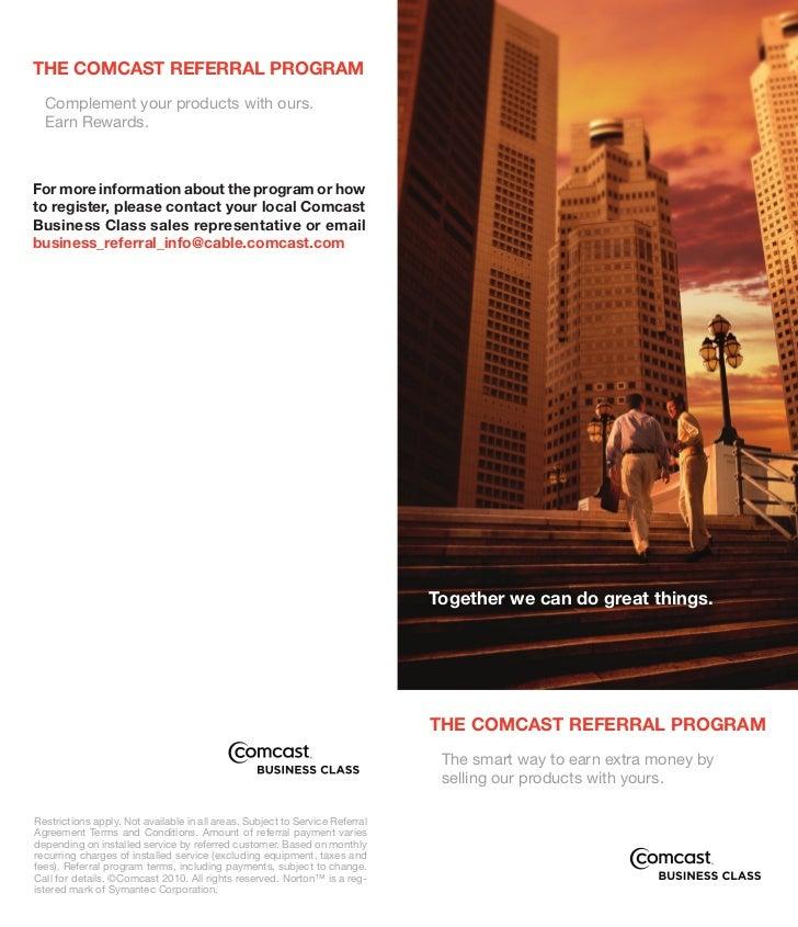 Referral Program Brochure