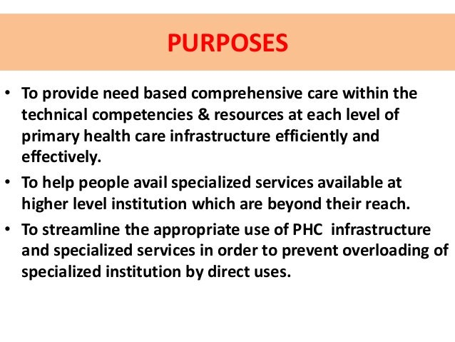 Module 5 management of ilhz referral system.