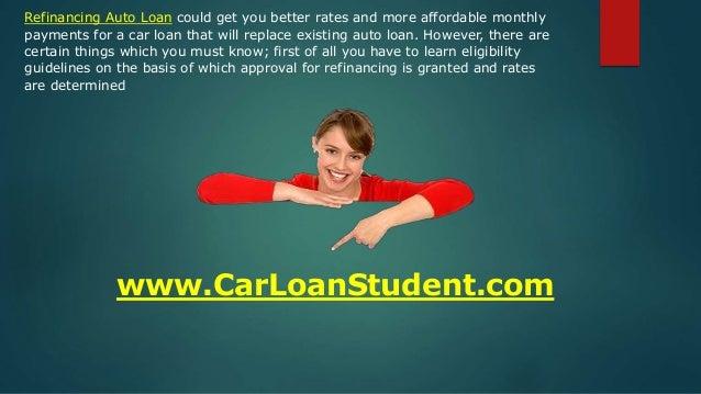 Refinance Auto Loan Bad Credit, Refinancing Car Loan for Bad Credit