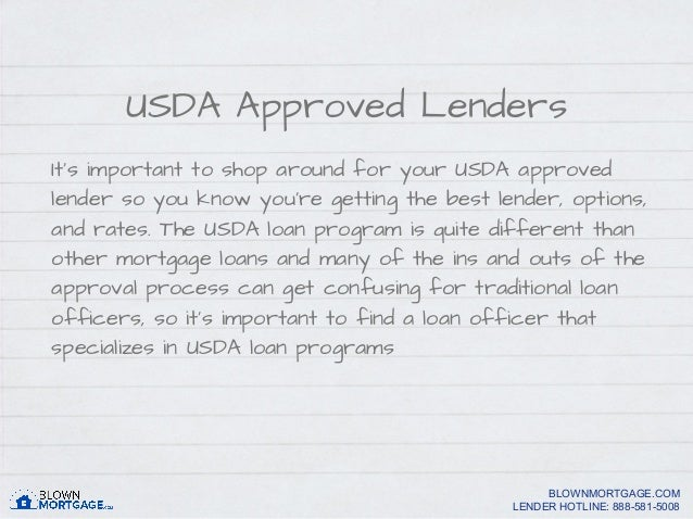 Refinancing a usda loan for Usda approved homes