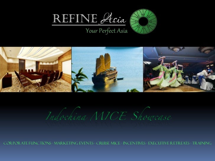 Corporate Functions · Marketing Events · Cruise MICE · Incentives · Executive Retreats · Training