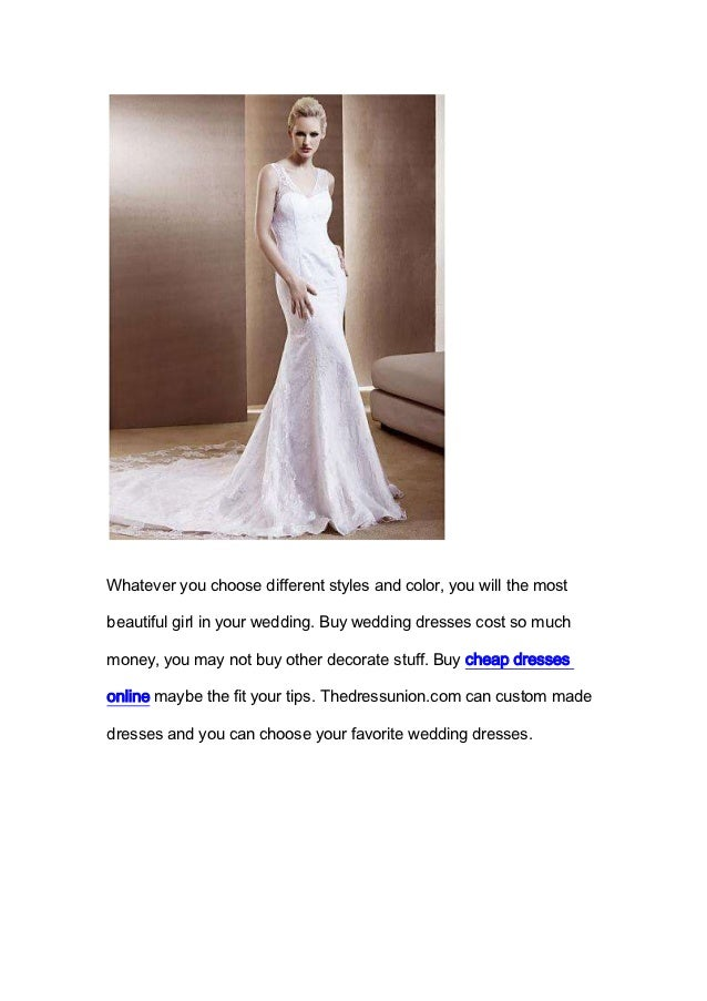 Refined wedding dresses give you a perfect dream wedding