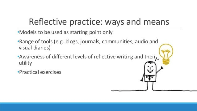 reflective practise What is reflective practice the simplest definition of reflective practice is reflecting or thinking about your actions it is similar to the concept of learning from one's experience, where one reflects on what he or she.