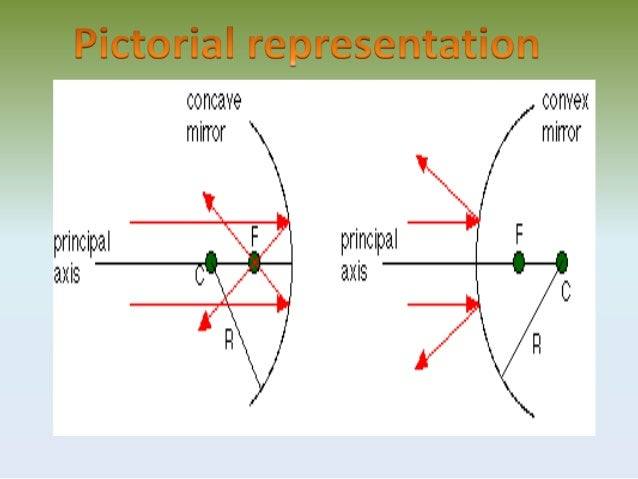 This Plane Is The Principal Axis 9 For A Spherical Mirror Of