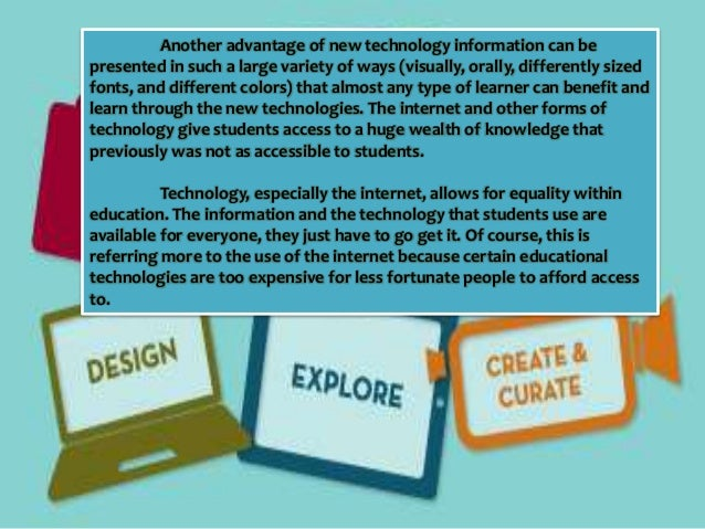 Technology Is Not Just A Tool It Can Give Learners A: Reflection Technology: Boon Or Bane?