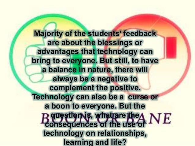 technology boon or bane essay