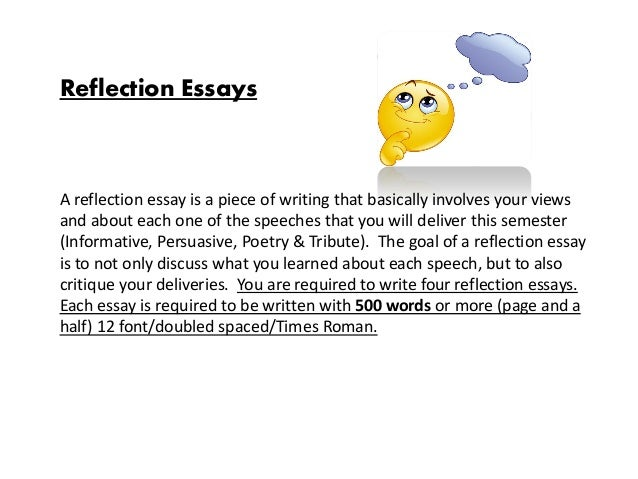 art reflection essay How about the art reflection paper in particular well-well-well, just look how much you've learned by now i'm sure that you already have enough essay ideas and.