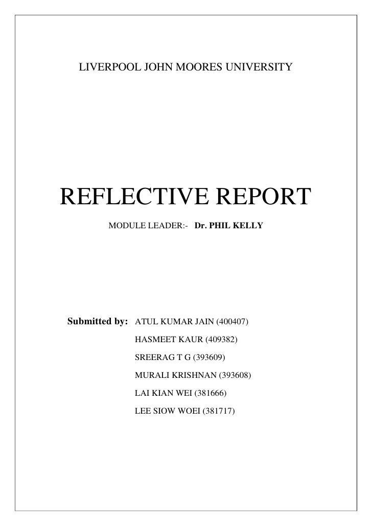 reflection report dyson case study liverpool john moores university<br >reflective report<br >module leader
