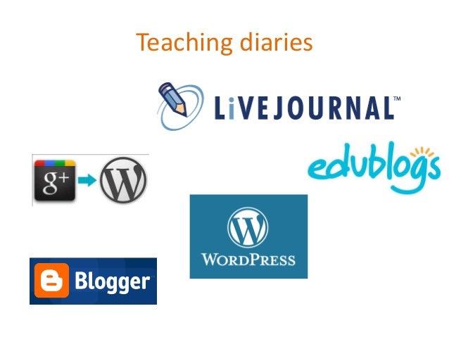 Teaching diaries