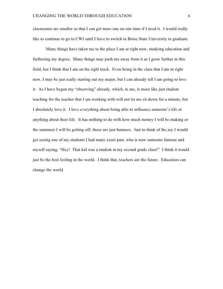 love distance essay kindness