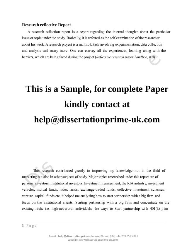 dissertation report mutual funds Dissertation mutual funds mba - essays & researches written by high class writers top-ranked and affordable essay to simplify your education all kinds of academic.
