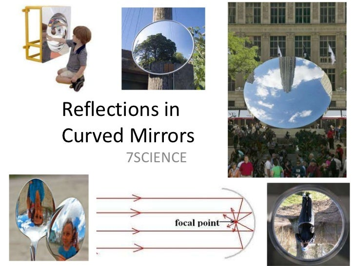 Reflections in Curved Mirrors<br />7SCIENCE<br />