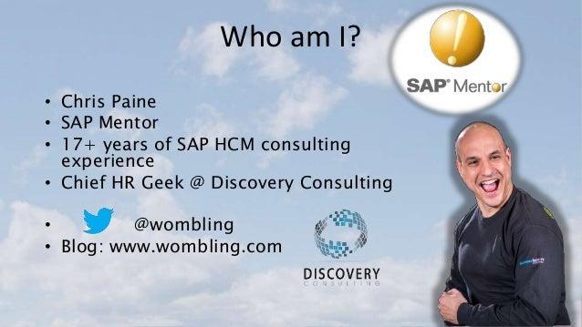 SAP SuccessFactors Cloud Integration to SAP ERP from Employee Central Slide 2