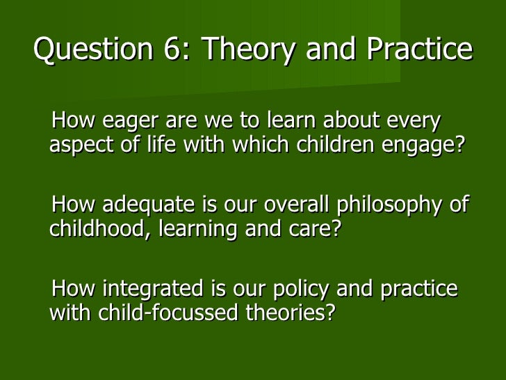 Theoretical reflections of the virtual child