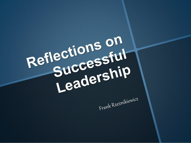 As we walk the path of guiding organizations to success, we need to question whether we are successful. Too many leaders a...