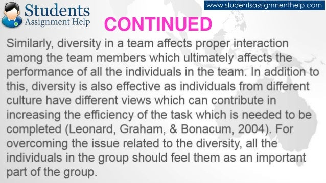 Reflective Essay On Teamwork Continued