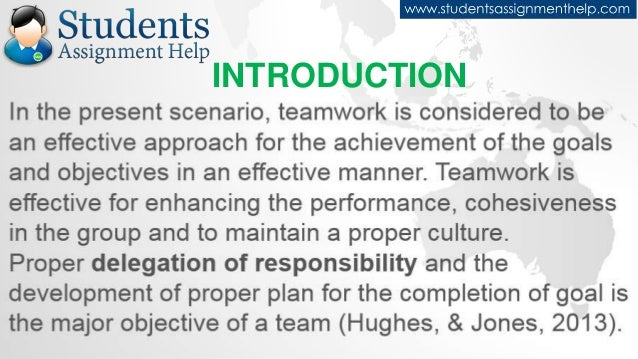 Reflective essay on teamwork