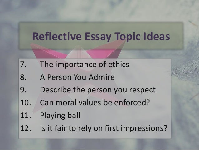 examples of definition essay topics