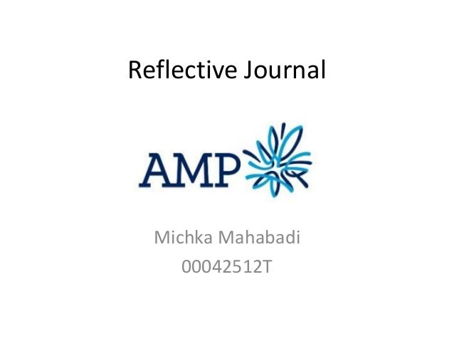 Reflective Journal  Michka Mahabadi 00042512T