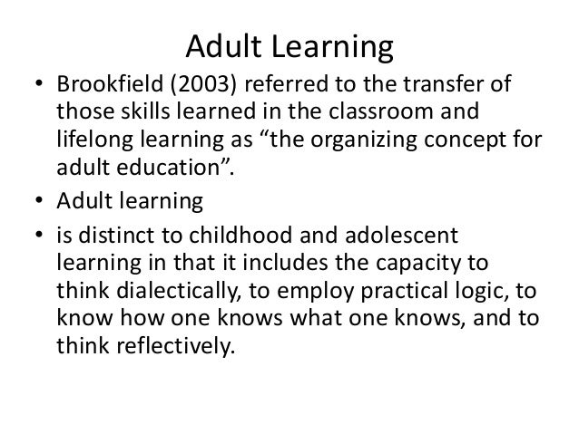 critical thinking for adults