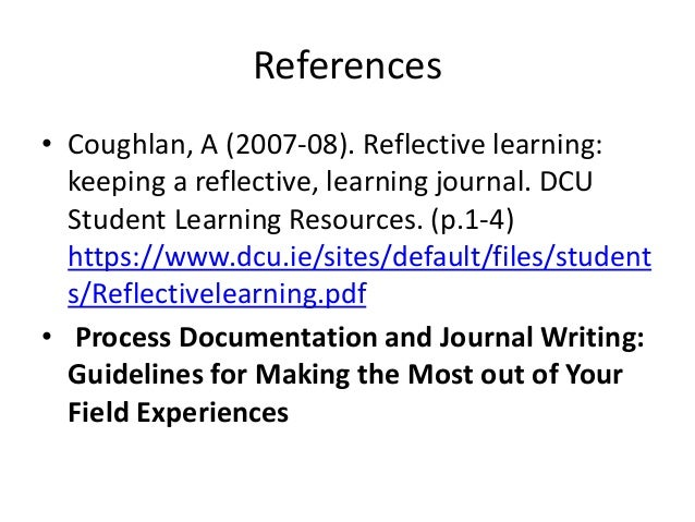 "reflective essay about your experience studying american literature this term A study of early childhood care and education across 20 countries found that   for all children when early learning experiences are high quality (oecd, 2006)   has on outcomes for children is clearly documented in the research literature   the reflective practitioner, developed the term ""reflective practice"" (schön 1983."