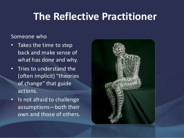 explain the importance of reflective practice How does reflection help teachers to become  it has been tried to explain the importance of reflection and reflective  engaging in reflective practice, .